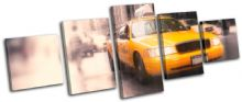 New York Taxi Cab NYC City - 13-1377(00B)-MP07-LO